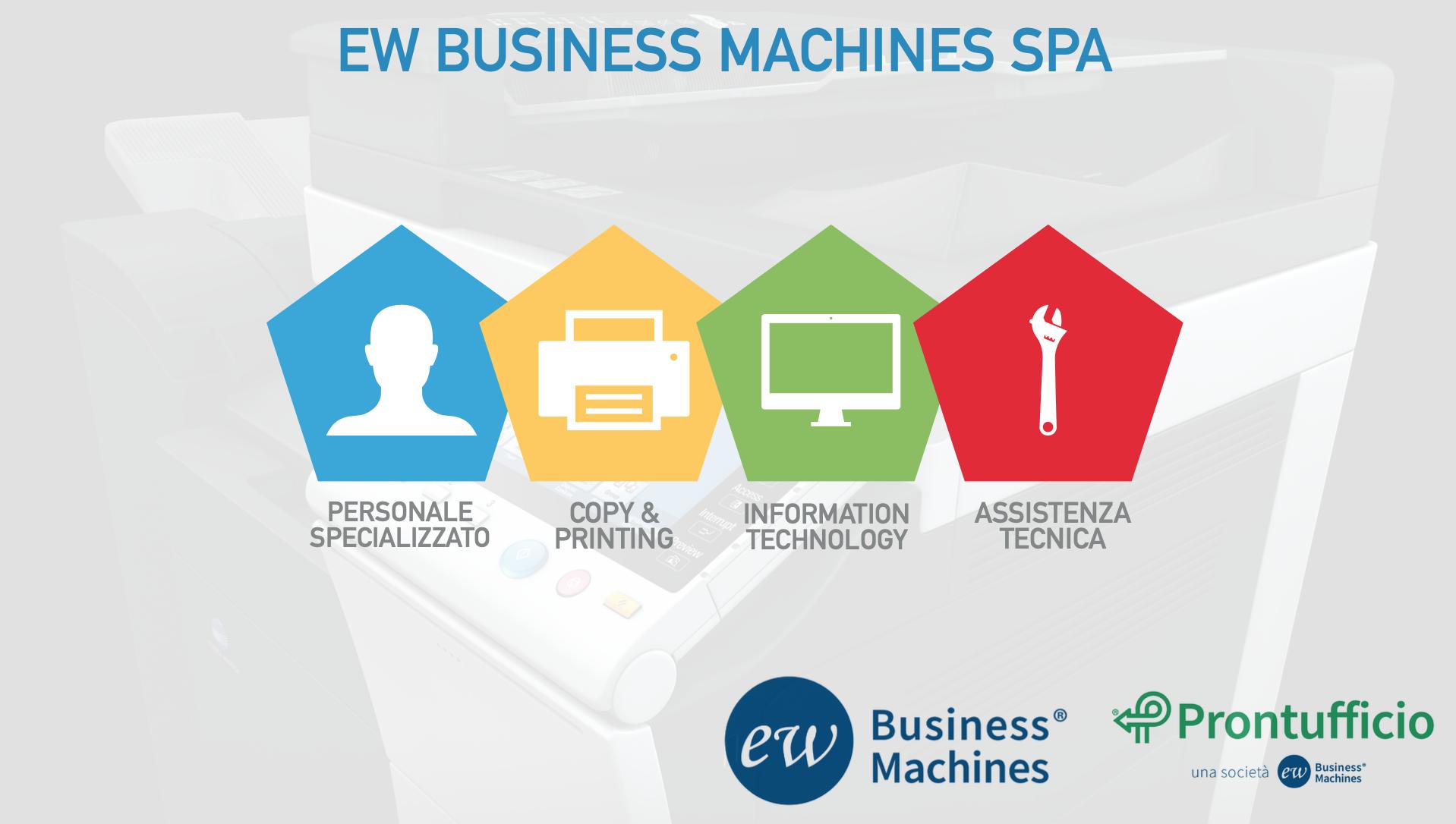 ew business machines spa noleggio vendita e assistenza fotocopiatrici milano