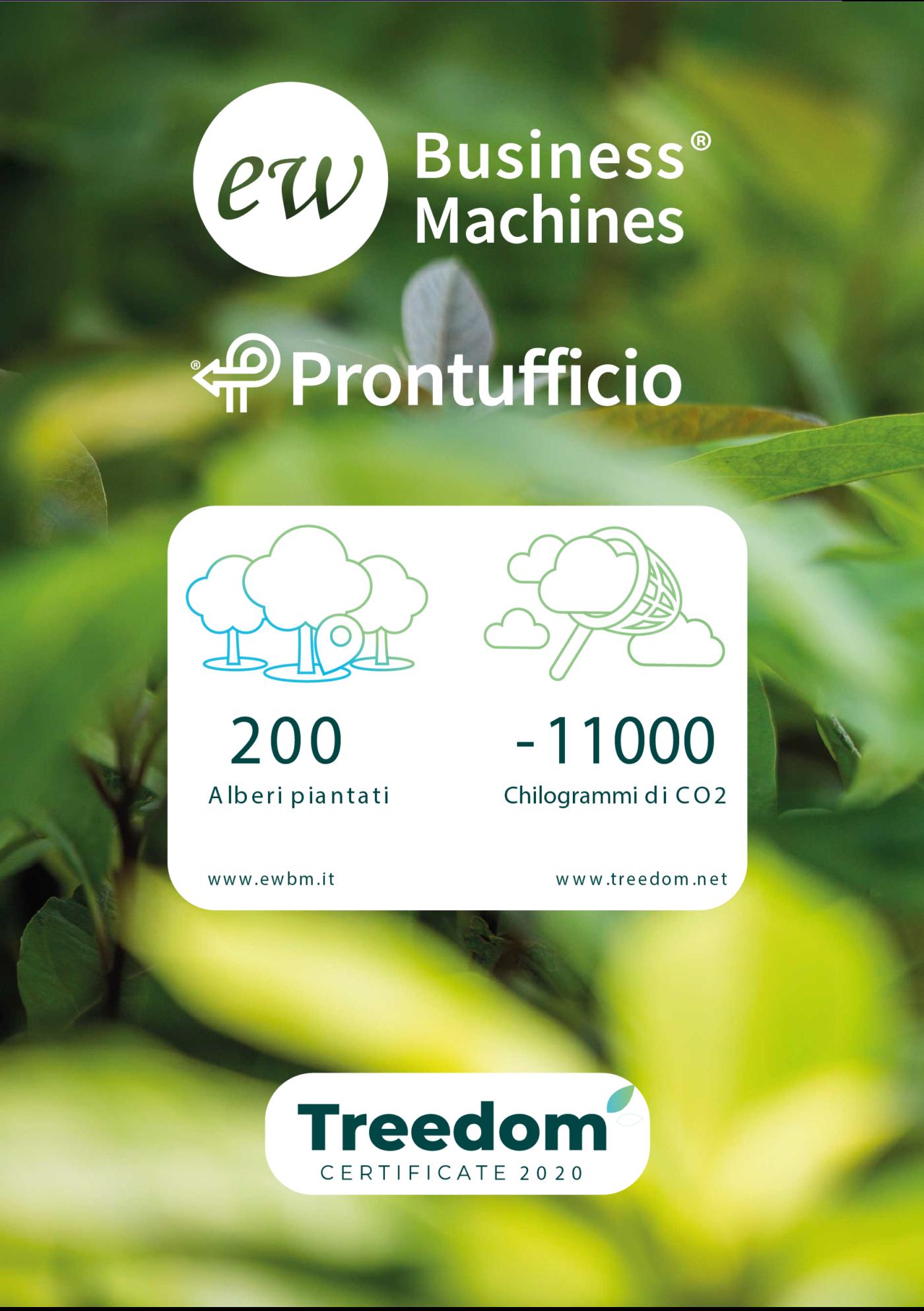treedom - Foresta ewbm Prontufficio