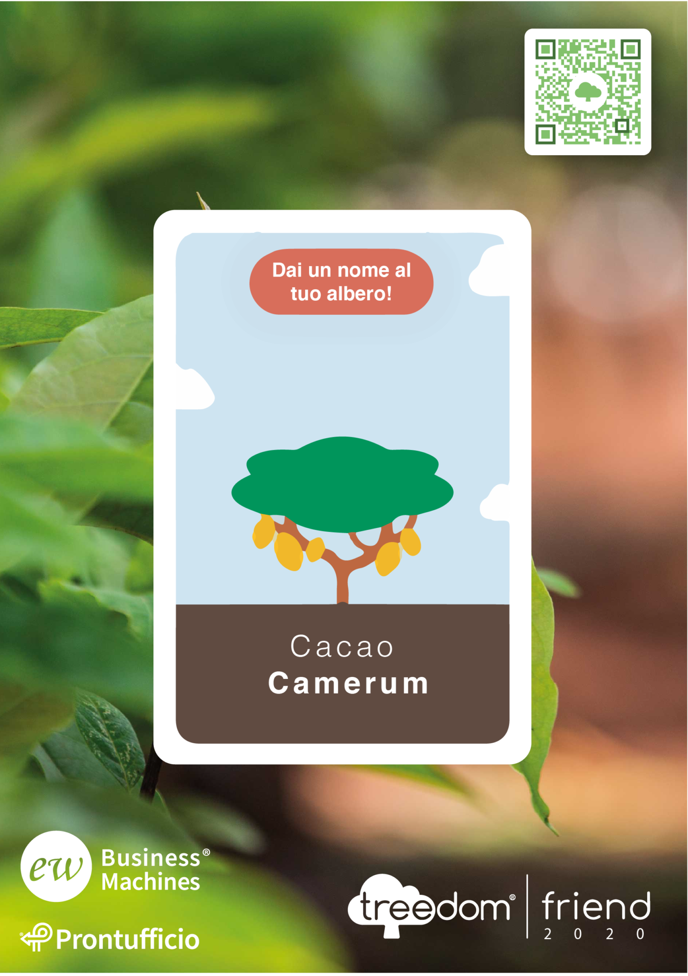treedom - Foresta Camerun Ew Business Machines